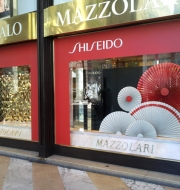 Vetrine Shiseido